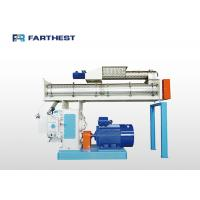 China Calf Feeding Fodder Pellet Making Machine Variable Pitch Anti Bridging Structure on sale