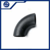 Best Seamless Pipe Fittings 90 Degree A234 B16.9 ASME Semi Seamless Buttweld Carbon Steel Elbow wholesale