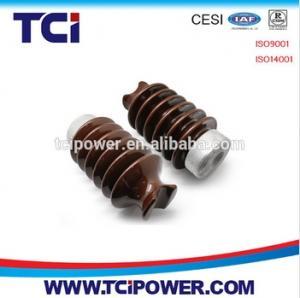 China ANSI 57 series 10kv-45kv ceramic porcelain line post insulator on sale