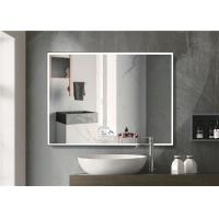Warm Light LED Bluetooth Bathroom Mirror With Explosion Proof Surface