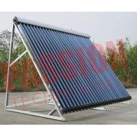 Best Pressurized Heat Pipe Solar Power Collector , Solar Water Collector 30 Tubes wholesale