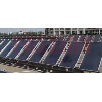 Best 6000L Centralized Flat Plate Solar Water Heater Solar Thermal Flat Plate Solar Collector wholesale