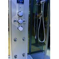 Cheap Durable Walk In Steam Shower Cubicle , Jacuzzi Steam Shower Cabins With Seat for sale