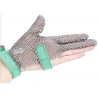Best Butcher Anti Cutting Stainless Steel Gloves With Metal Plates , High Strength wholesale