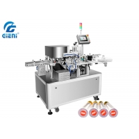 Best PLC Control 2KW 90pcs/Min Lipstick Labeling Machine wholesale