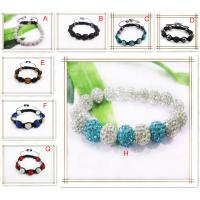 Cheap Beaded Shamballa Jewellery Bracelet, Handmade Jewelry Bracelets For Women, Men, for sale