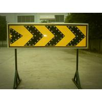 Best Curve Guidance LED Flashing Arrow Board Customized Solar Road Sign 400×1200 mm wholesale
