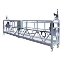 Best OEM ZLP630 Aluminum High Working Rope Suspended Platform Cradle With 630 Rated Load wholesale
