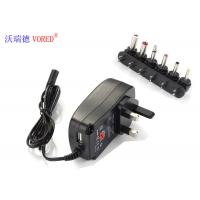 Best 6 DC Tips Selectable Multi Voltage Power Adapter UK Plug Low Defect Rate wholesale