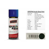 Best AEROPAK with MSDS and SGS certificate grass green color acrylic Spray Paint wholesale