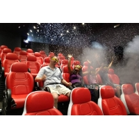 Best Gaming Room Luxury 5D movie theater seats With Dynamic Effects wholesale
