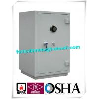 Best Single Door Fireproof Storage Cabinets Double Layer 2 Hour Fire Safe CD / Files wholesale