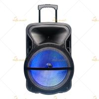 """Best 8"""" Trolley Portable PA Speakers 220V 50Hz Bluetooth Wireless for Museums wholesale"""