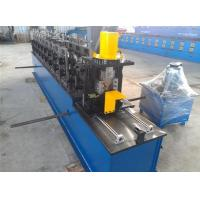 Best Angle Size Ceiling Roll Forming Machine , 12 Steps Type Steel Bar Making Machine wholesale