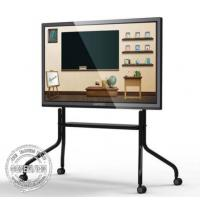 Buy cheap Stand Floor Bracket Touch Screen Kiosk LCD Interactive Dual System Andriod / from wholesalers