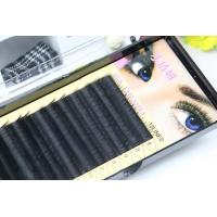 Premium Long Lasting Eyelash Individual Extensions For Beauty Salon 10mm In Three Rows
