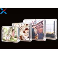 Best Clear Magnet Acrylic Photo Frame PMMA Certificate Pictures Table Frame wholesale