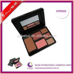 China 6 Color Professional Face Makeup Blush Palette on sale