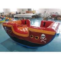 Best Air Sealing Inflatable Viking Seesaw Game, Fun Easy Inflatable Pirate Ship Seesaw For Kids wholesale