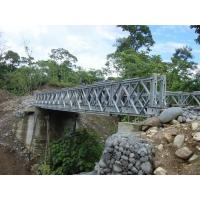 Quality Highly Mobile Modular Simple Truss Bridge , Temporary Steel Long Suspension Bridges wholesale