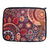 Best Paisley Laptop Cover Zippered 14inch Neoprene Fall Color Floral Double Sided Art Case wholesale