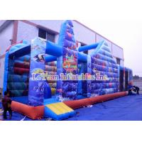 Best Mermaid Theme Inflatable Bouncy Castle Combo Finding Nemo Interesting Jumping House wholesale