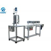 Best SUS304 Manual Type Metal Mould Lip Balm Production Line With Remelting Conveyor wholesale