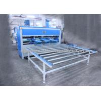 Best Durable Mattress Packing Machine / Mattress Covering Machine With Front Back Work Tables wholesale