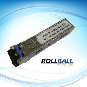 Best Digital Diagnostic Monitoring, 155Mbps TR x 1550nm 120KM SFP Fiber Transceiver Module wholesale
