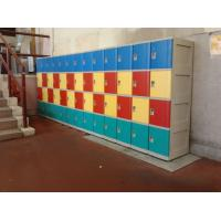 Best Graffiti Proof 4 Tier Yellow Plastic School Lockers No On - Site Assembly wholesale