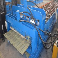 Buy cheap Trustworthy brand CE ISO certification glazed iron roofing sheet making machine from wholesalers