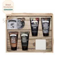 China Silky Relaxing Bath Gift Sets , Mens Toiletries Gift Set Ingredients Sandalwood on sale