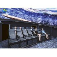 Best Dome Special Buildings 3D Movie Cinema Curved Screen Immersive Cinema With 4D Motion Seats wholesale