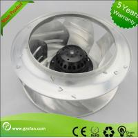 Best Airflow Backward Curved AC Centrifugal Fan For Air Conditioning 220V wholesale