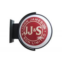 Best Round D50cm  Lighted Pub Sign Rotating / Club Sign / Beer rotating Sign wholesale