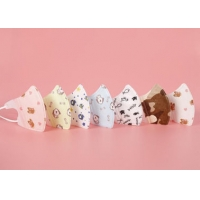 Best Cute Cotton Disposable Kids Surgical Mask Children N95 With Funny Design wholesale