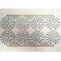 Best Durable LED Light PCB Board White Soldermask Aluminium With ENIG / HASL Surface wholesale