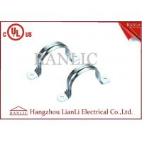 Best 2 Hole Rigid Conduit Straps IMC Conduit Fittings Galvanized Conduit Clamp wholesale