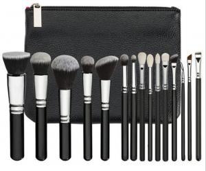 Best Custom Logo Black Face And Eye Makeup Brush Set wholesale