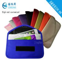 Best Custom RFID Travel Bags , Credit Card Protector Wallet 19.5*9 Cm wholesale