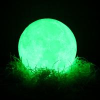 China Factory wholesale  led 3D Lights , Customized pattern 3D Print Moon night Light with remote control on sale