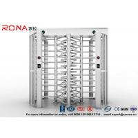 Cheap Full Height Turnstile Access Control Turnstile Dual Passage With CE Approved for sale