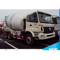 Best foton Auman 6*4 8cubic meters concrete mixer truck for sale, 2017s new best price 8m3 foton truck mounted mixer truck wholesale