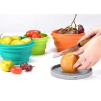 Best FDA Collapsible  Silicone Lunch Box 500ml  for Outdoor Traveling, and  Home, Office wholesale