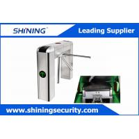 Best Intelligent Tripod Turnstile Barrier GateWith Voice Prompt And Display Screen wholesale