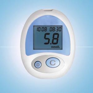 China Blood glucose meter no strip on sale