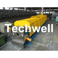 """Best 3"""" * 3"""" Squared Rainwater Downpipe Roll Forming Machine For Water Pipe, Rain Gutter wholesale"""
