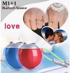 Best Red Blue BK3.0 Cube Bluetooth Speaker Ball 5.8CM Diameter Plastic Material wholesale