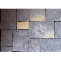 Best Interior / Exterior Artificial Wall Stone Multiple Color With Solid Surface wholesale