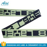 Best Printed Elastic Waistband 20MM - 50MM Jacquard Elastic Waistband For Underwear / Cothing wholesale